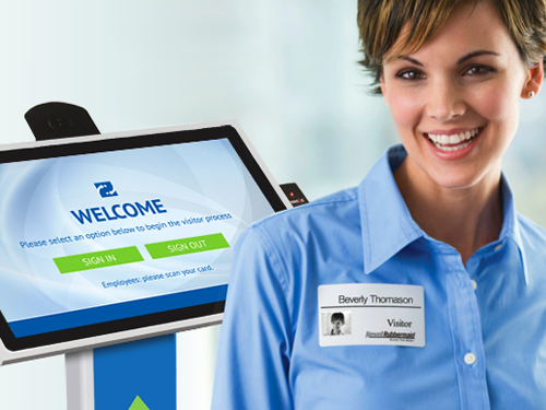 Visitor Self Check-In Kiosk
