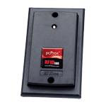 HID Card Reader for a Single Gang Box
