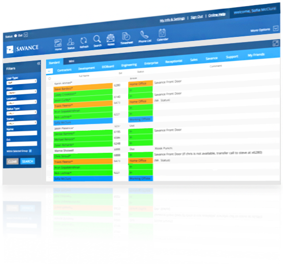 EIOBoard Online In Out Board Software