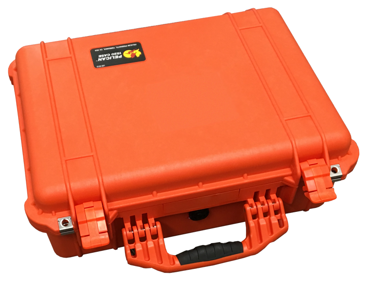 Orange Pelican Case