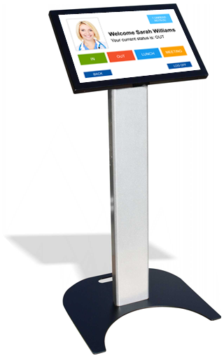 Heavy Duty Podium Kiosk Floor Stand