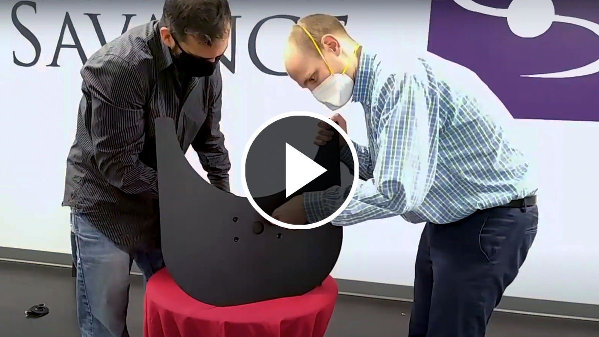 Assembling the Kiosk, Part 1, Video