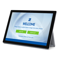 Tablet-Based Visitor Management Kiosk